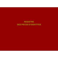 Registre des pièces d'identité - 200 pages