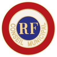 Cocarde adhésive - Conseiller Municipal