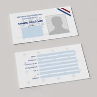 Carte d'identité de Maire Délégué