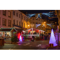 Sapin lumineux Modulaire 4 parties