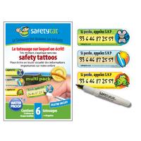 Tatouage de sécurité pour enfant Safetytat