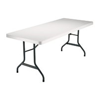 Table pliante rectangle polyéthylène - Longueur 183 cm