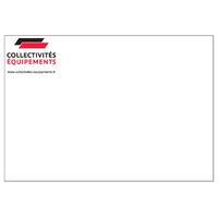 Enveloppes C6 blanches 90 g personnalisées en quadrichromie