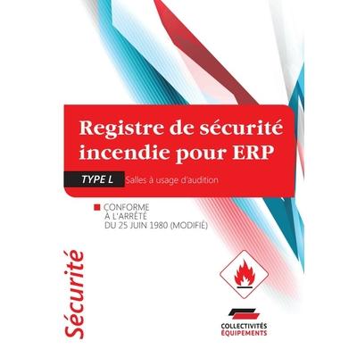 registre de sécurité incendie pour ERP