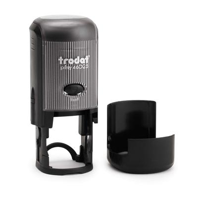 Tampon-personnalisé-TRODAT-46025-noir-et-couvercle