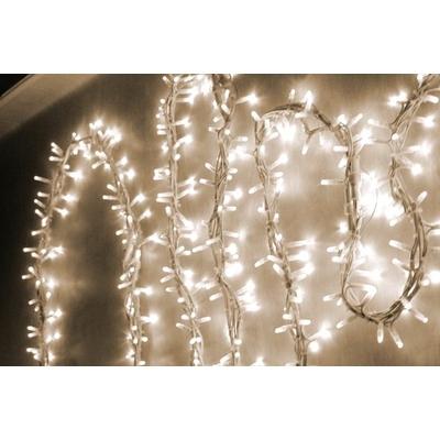 guirlande tresse de lumière blanc chaud 7,5m