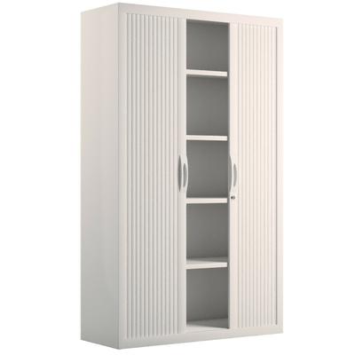 Armoire haute blanche meuble bureau