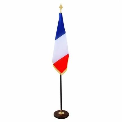 drapeau-d-ornement-et-de-defile-officiel-francais