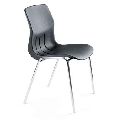 chaise pour collectivité KALINE-NOIR