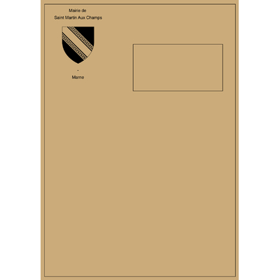 Enveloppes c4 kraft 90g personnalis es en noir avec for Enveloppe a fenetre