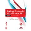 Registre de Sécurité Incendie pour ERP type L