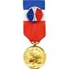 Médaille de vermeil 30 ans d'honneur du travail.