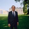 Portrait officiel du Président François Hollande