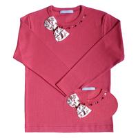 T Shirt Ninon Cherry manches longues
