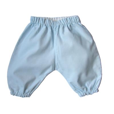 Pantalon Dina velours de coton ciel
