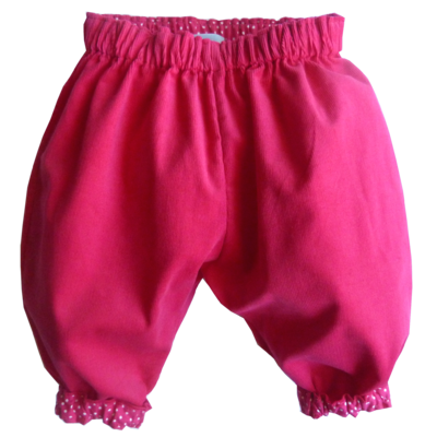 Pantalon velours pour bébé Dina