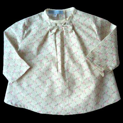 Corsage coton imprimé fleuri Pastel Loulou