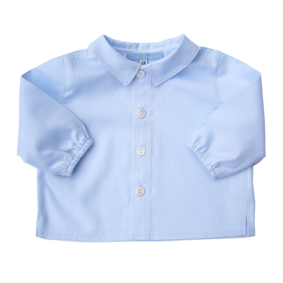 Chemise Arthur coton bleu ciel