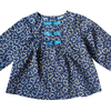 blouse anais navy wizi