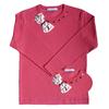 t shirt ninon cherry FT double