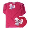 t shirt ninon cerise double copie