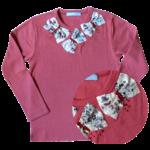 T Shirt Aude Cherry Manches Longues