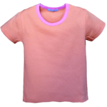 T Shirt Bicolore manches courtes
