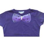 t shirt violet detail 1