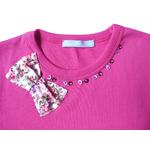 t shirt ninon fushia FT3 copie