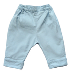 Pantalon Jules velours bleu ciel