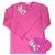 t shirt ninon fushia FT double