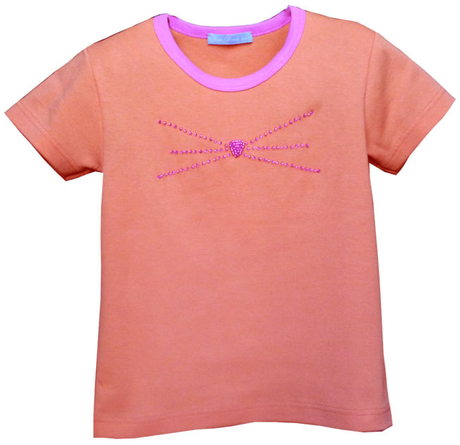 t-shirt-chaton-orange-2