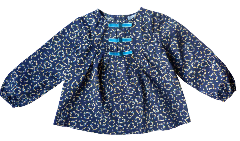 blouse anais bleu FT 1