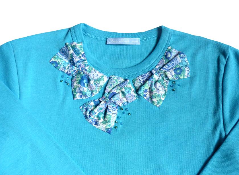 t shirt ninon bleu FT 2 copie