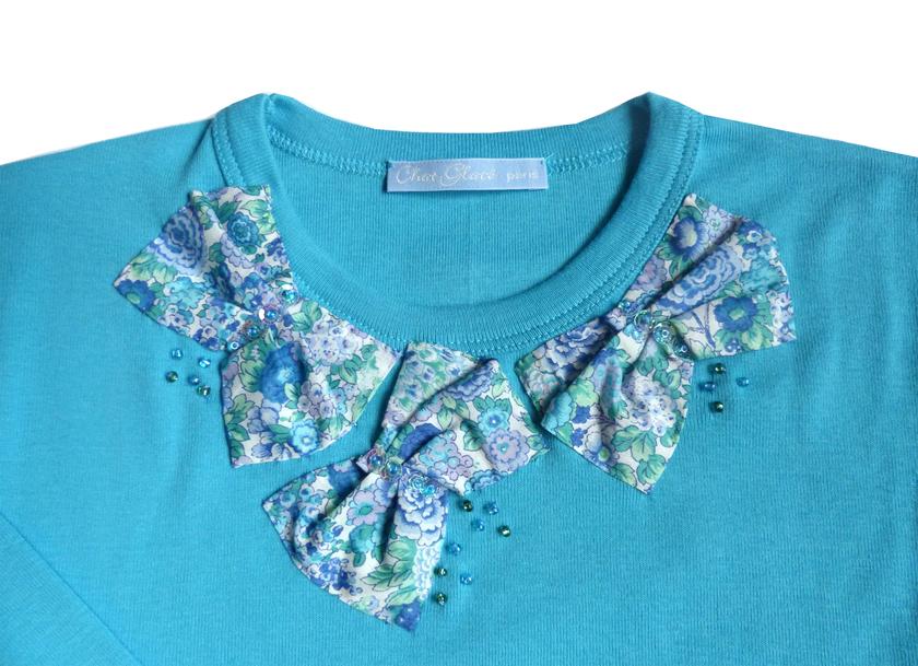 t shirt ninon bleu FT 3 copie