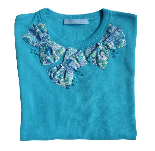 t shirt ninon bleu FT 4 copie