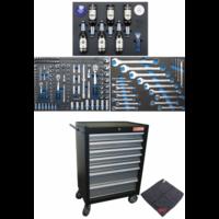 Servante d'atelier BGS Technic série limitée apéro avec 215 outils