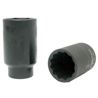 Douille à choc 12pts 38mm spéciale écrou de moyeu