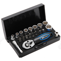 Mini coffret Gear Lock métrique + pouces - idéal voyage et loisir