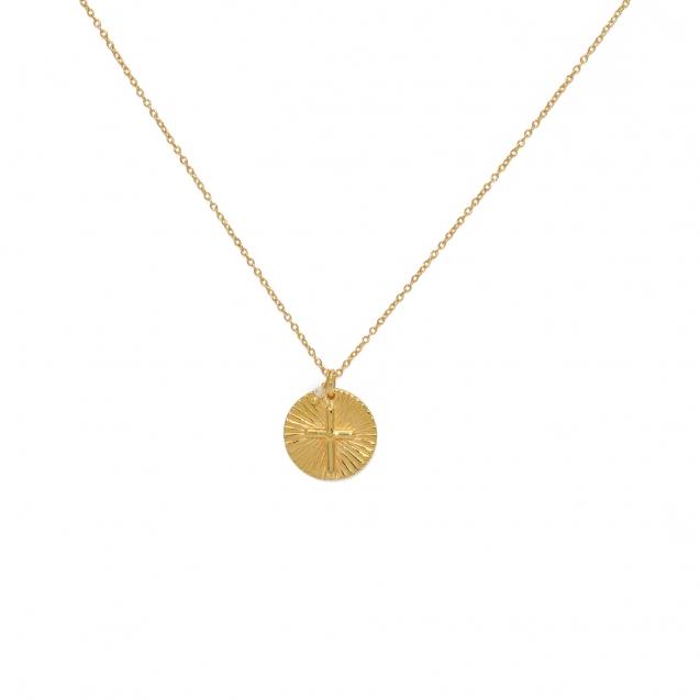 collier-dore-medaille-croix-et-rainbow