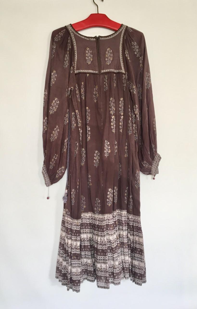 robe indienne bohème dos