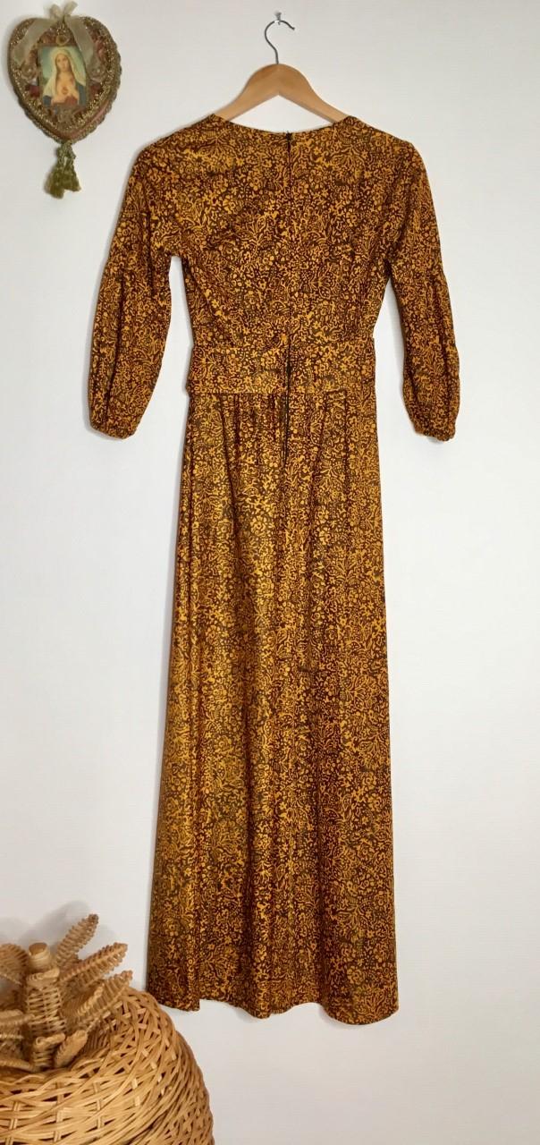 robe longue bohème dos