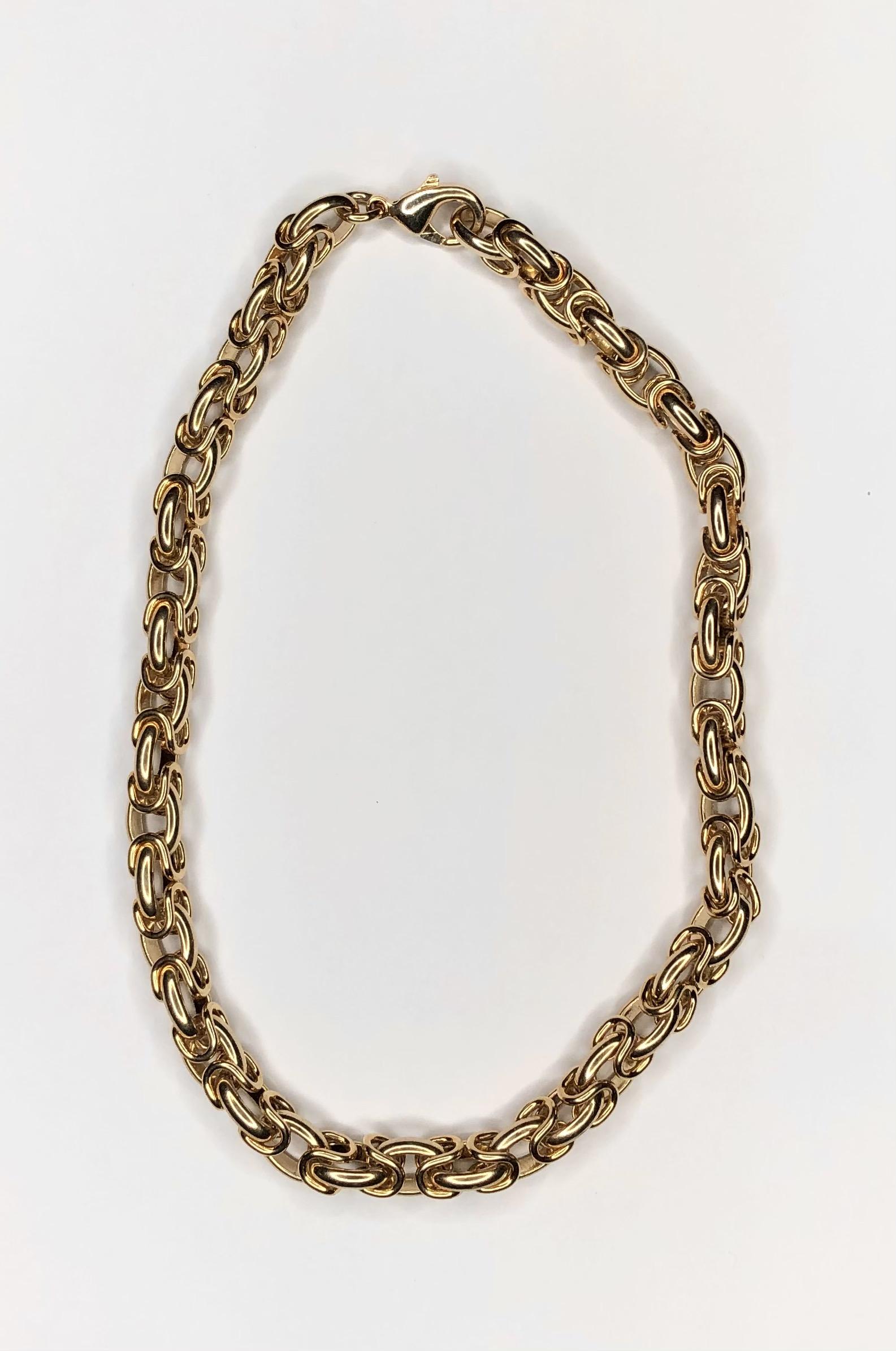 collier doré anna