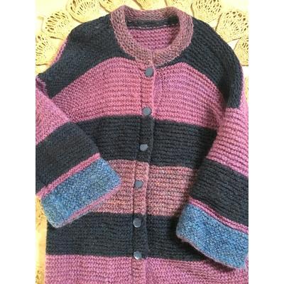 Gros gilet en laine vintage