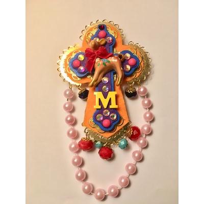 Broche croix de Mouchkine