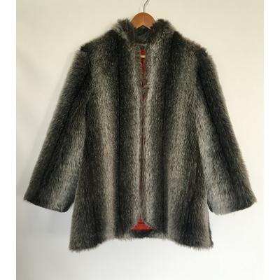 Manteau en Fausse fourrure vintage