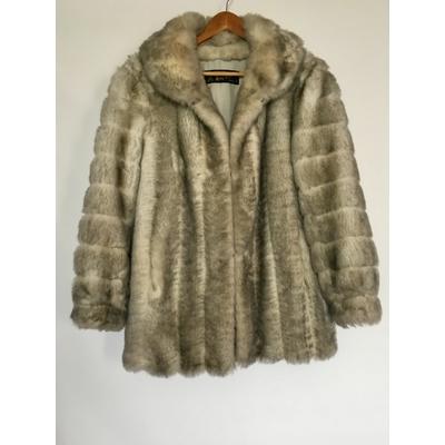 Manteau en Fausse fourrure années 80