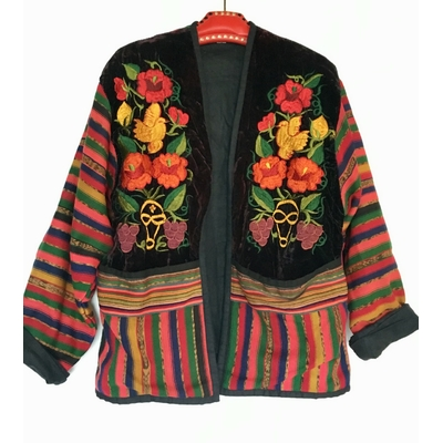 Veste brodée Guatémaltèque vintage