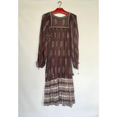 Robe bohème indienne vintage
