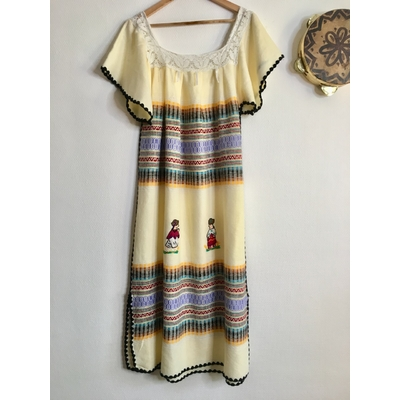 Robe vintage mexicaine